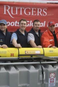 Glider team on Spanish ship