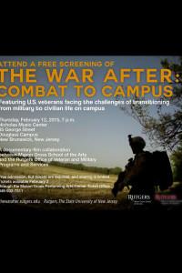 The War After-premiere announcement