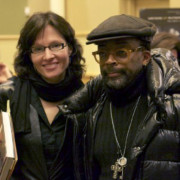Dena with Spike Lee
